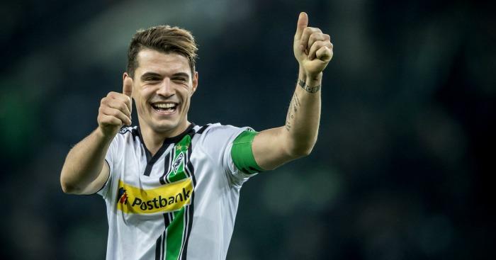 Granit Xhaka: Mönchengladbach willing to let midfielder leave