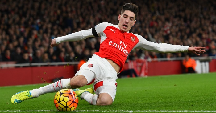 Hector Bellerin: Linked with £43m Man City switch