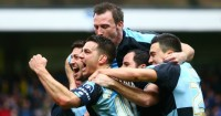 Joe Jacobson: Celebrates Wycombe's equaliser from the spot