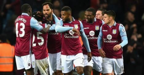 Aston Villa: Celebrate Joleon Lescott's winner against Crystal Palace