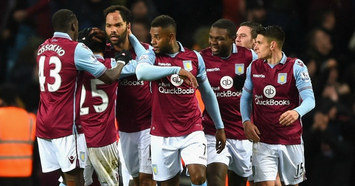 Aston Villa: Celebrate Joleon Lescott's winner against Crystal Palace