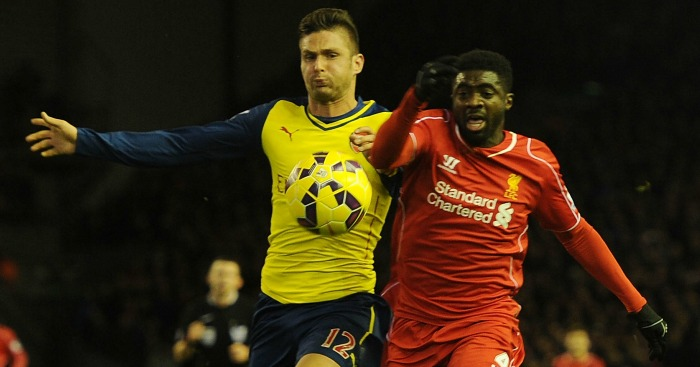 Olivier Giroud & Kolo Toure: Set to renew acquaintances on Wednesday