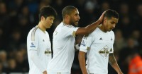 Kyle Naughton: Shown red card in Swansea City's defeat to Sunderland