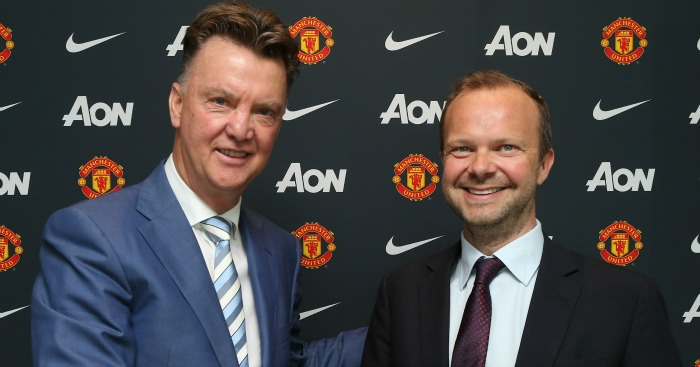 Image result for van gaal and woodward