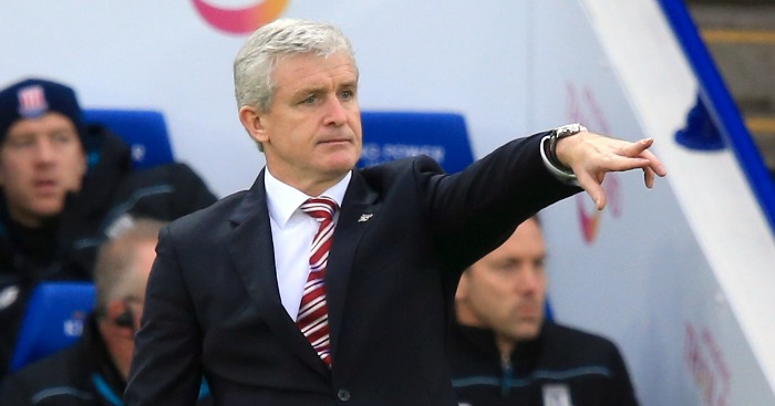Mark Hughes: Admitted Stoke City were poor at Leicester City