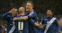 Michael Morrison: Celebrates with his Birmingham team-mates