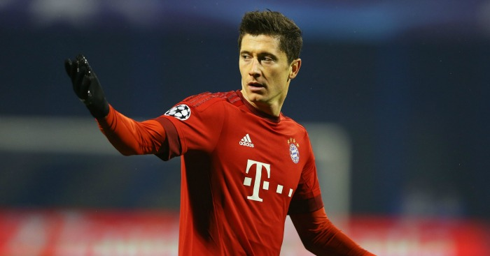 Robert Lewandowski: Linked with summer switch to Man City