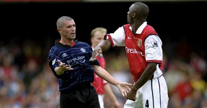 Patrick Vieira: High praise from former adversary Roy Keane