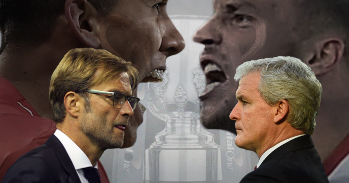 Liverpool face Stoke on Tuesday night