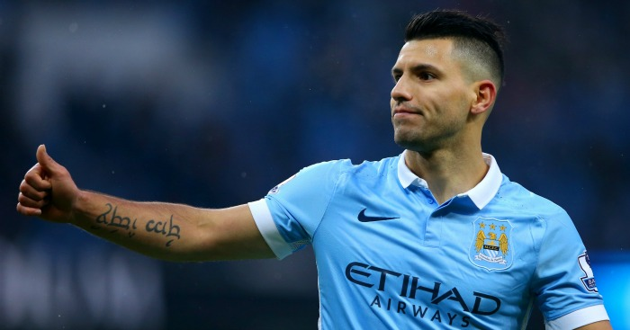 Sergio Aguero: Has four goals in last two games