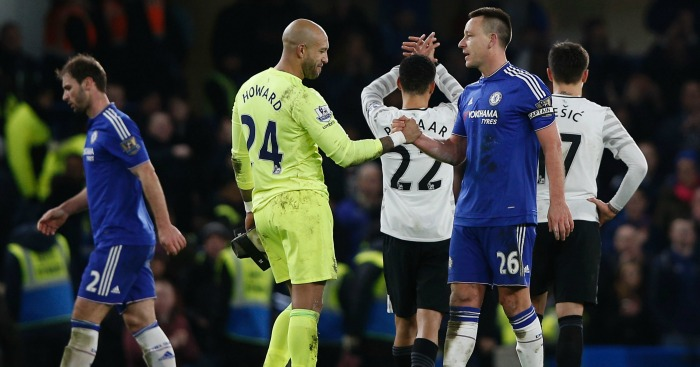 John Terry: Earned Chelsea a draw against Everton