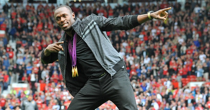 Usain Bolt: Would not want to play for Louis van Gaal at Manchester United