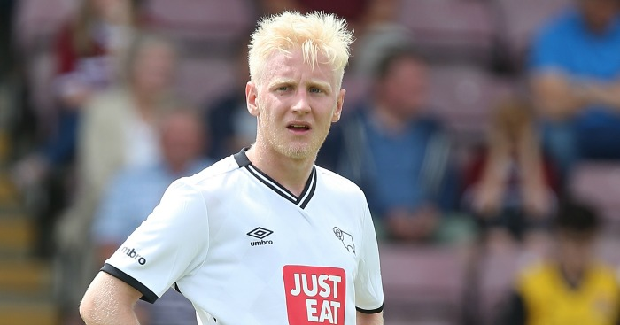 Will Hughes: Derby star linked with Everton
