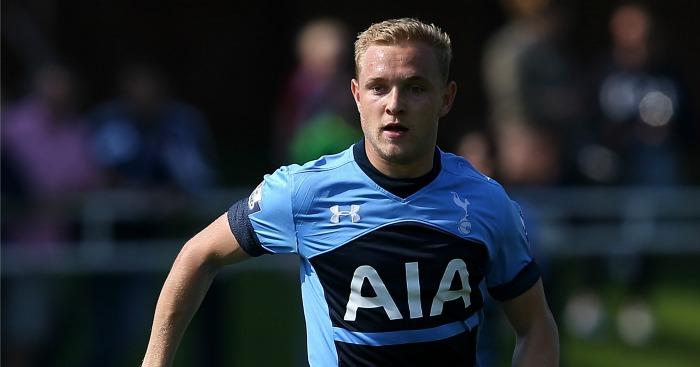 Alex Pritchard: Set to join West Brom on loan from Tottenham