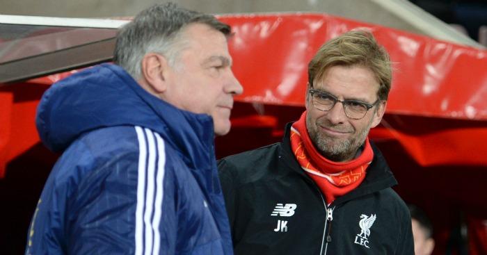 Jurgen Klopp: Happy to shake hands with Sam Allardyce