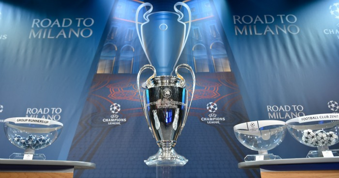 Champions League: Semi-final draw made