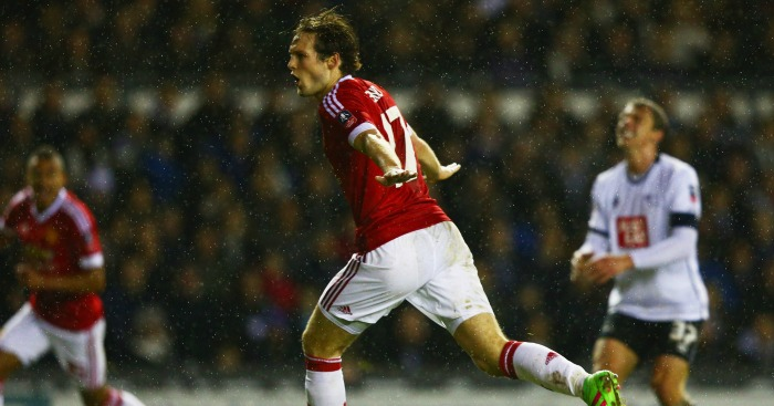 Daley Blind: Defender scored crucial goal in FA Cup tie