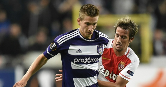 Dennis Praet: Midfielder set to leave Anderlecht