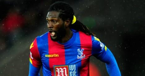 Emmanuel Adebayor: Joined Palace as a free agent