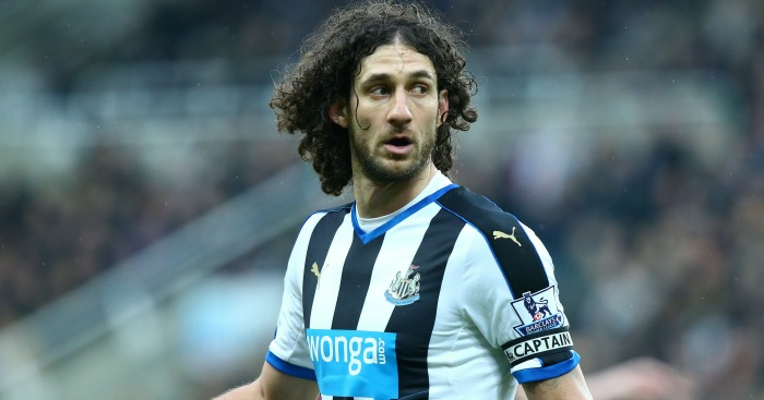 Fabricio Coloccini: Eight years on Tyneside over