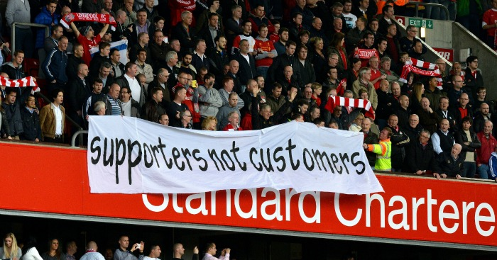 Liverpool fans: Protest led to review of ticket prices