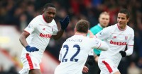 Imbula: Scored first goal for Stoke with stunning volley