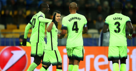 Manchester City: In strong position after first leg