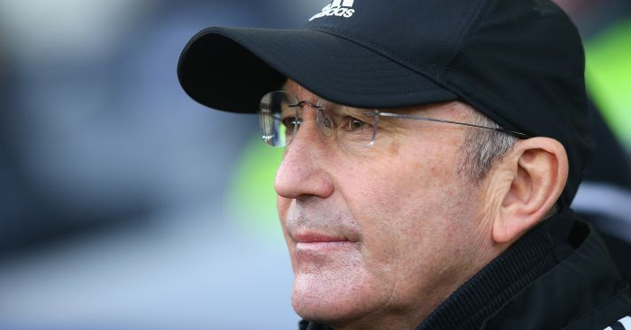 Tony Pulis: Wants to strengthen forward line