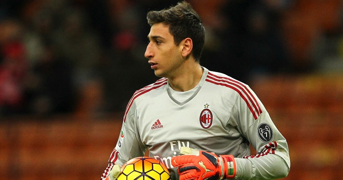 Gianluigi Donnarumma: Rated in the £70m-bracket
