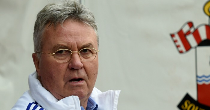 Guus Hiddink: Believes his side deserved the win