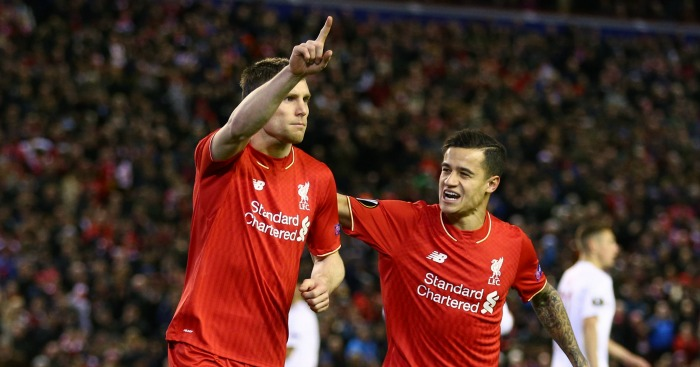 James Milner: Scored early penalty to secure the win
