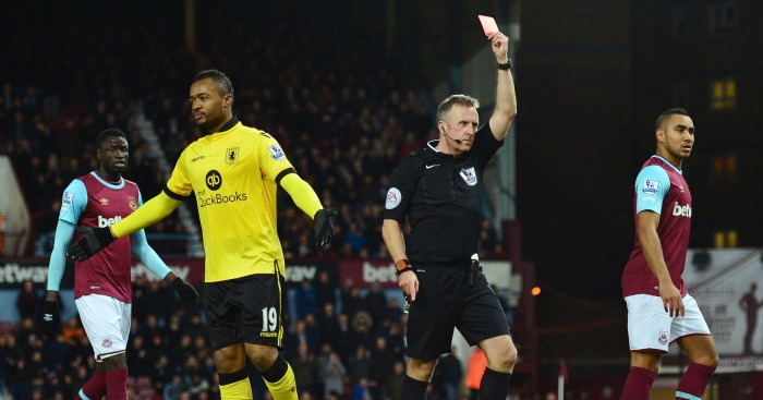 Jordan Ayew: Forward saw red for stupid elbow