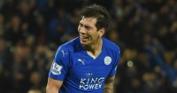 Leonardo Ulloa: Struck late on for Leicester