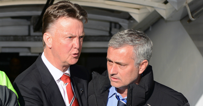 Louis van Gaal and Jose Mourinho: Neither enjoyed great seasons