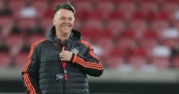 Louis van Gaal: Likely to stay on until the end of the season