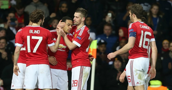 Memphis Depay: Celebrates United's fifth