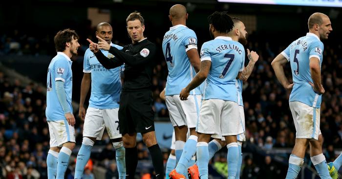 Mark Clattenburg: Awarded Tottenham controversial penalty against Manchester City