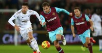 Nikica Jelavic: Striker scored twice for West Ham
