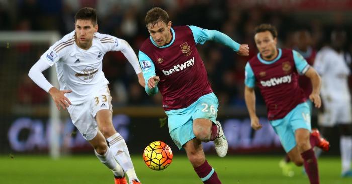 Nikica Jelavic: Striker scored twice for West Ham