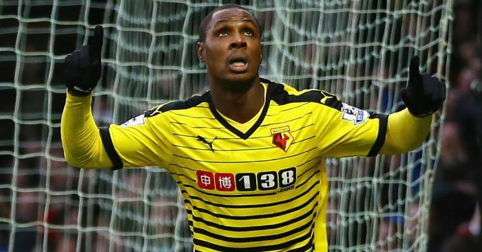 Odion Ighalo: Odion Ighalo: Scored 14 Premier League goals this season