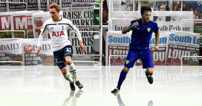 Christian Eriksen & Ignacio Camacho: In the news