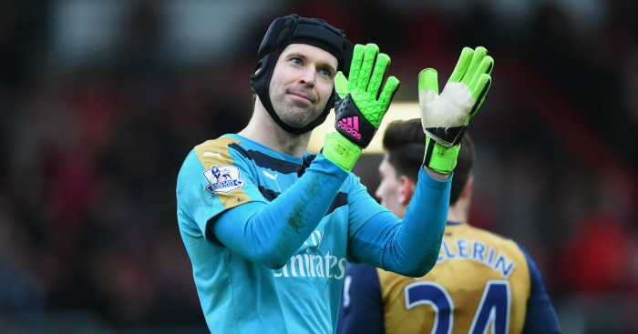 Petr Cech: Helped Arsenal to crucial win at Bournemouth