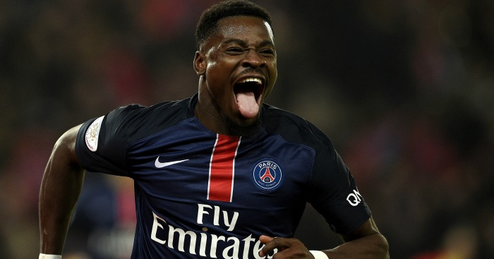 Serge Aurier: Banned by British authorities