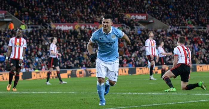 Sergio Aguero: Opened the scoring for Manchester City