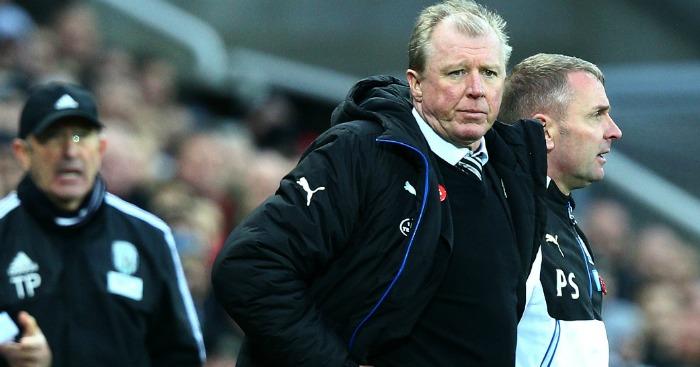 Steve McClaren: Will not settle for a point