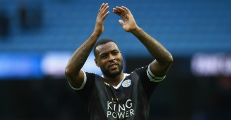 Wes Morgan: Defender has captained Leicester to top of table