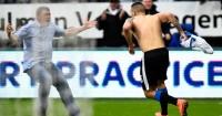 Aleksandar Mitrovic: Celebrates Newcastle's equaliser