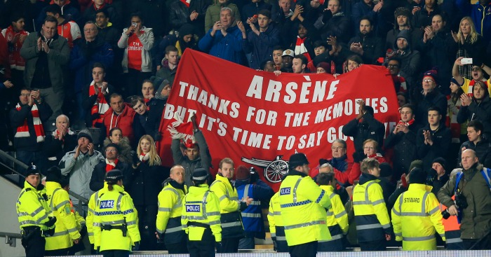 Arsenal fans: Will always want more, says Arsene Wenger