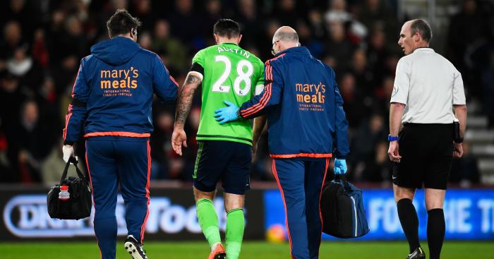 Charlie Austin: Injured against Bournemouth