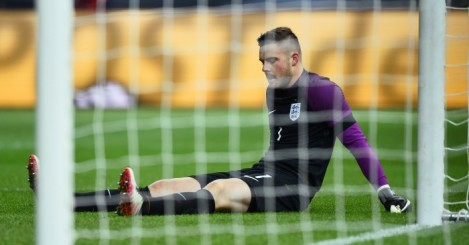 Jack Butland: Fractured ankle in win over Germany